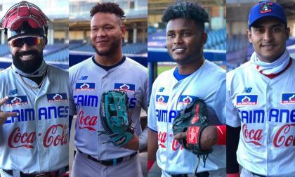 Sandy León, Harold Ramírez, Dilson Herrera y Dónovan Solano son cuatro de los seis grandesligas en Caimanes.