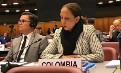 Abren investigación disciplinaria a la embajadora de Colombia ante la ONU
