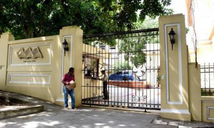 Fachada de la sede de la empresa Triple A en el barrio El Prado de Barranquilla.