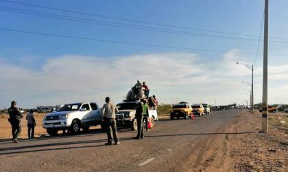 Disminuyó la accidentalidad en el puente festivo en La Guajira