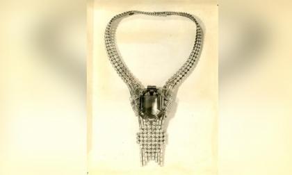 Tiffany reedita histórico collar y se convierte en el más caro de su historia