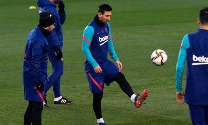 Messi, baja en el Barcelona para medirse a la Real