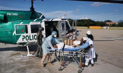 Evacúan a Kogui enfermo en la Sierra Nevada