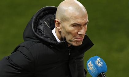 Zidane se mostró confiado en trabajar para revertir la situación en Madrid.