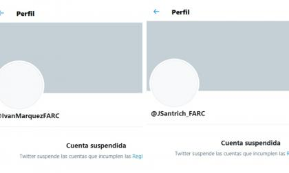 Suspenden la cuenta de Twitter de Iván Márquez