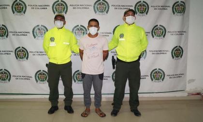 Policía captura a uno de los más buscados en Montería