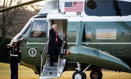 """Estaremos de vuelta de alguna forma"": Donald Trump"