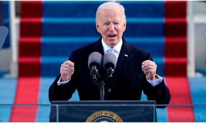 Joe Biden, presidente.
