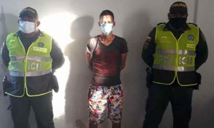 Capturaron en Villanueva a alias 'Chicharrón' con un arma de fuego