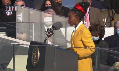 La joven poeta que aportó fuerza y esperanza a la investidura de Biden