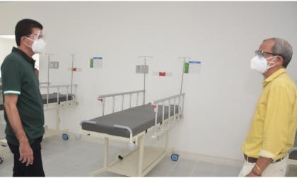 En Soledad está listo un punto de vacunación para Covid-19