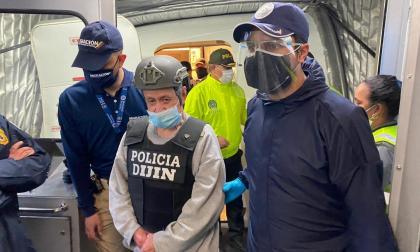 Hernán Giraldo, alias el Patrón, llegó deportado a Colombia