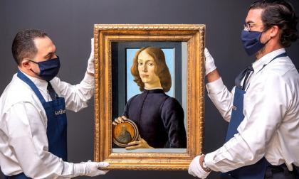 Un retrato de Botticelli se vende por 92 millones y marca récord del artista