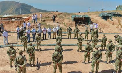 Con material de intendencia refuerzan Batallón de alta montaña en Cesar