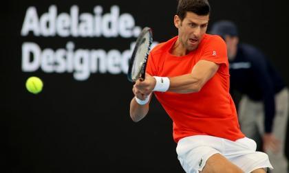 Novak Djokovic, vigente campeón de la Copa ATP y del Abierto de Australia.