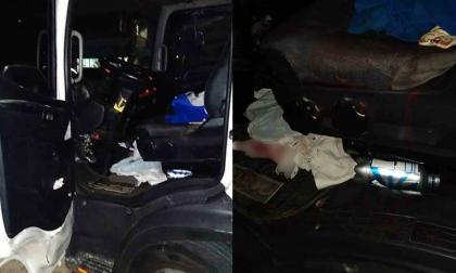 Conductor de camión se opuso a un atraco y lo mataron en Rebolo
