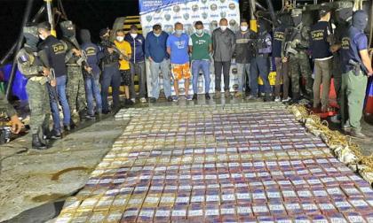 Envían a prisión a colombiano detenido con 1.308 kilos de cocaína en Honduras