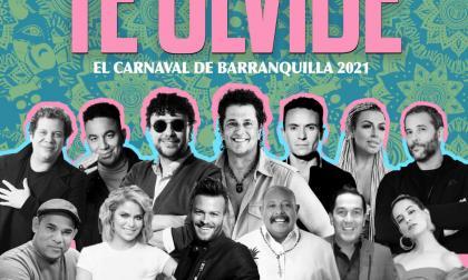 12 artistas colombianos unidos en la nueva versión de 'Te olvidé'