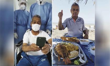 Paciente bogotano venció la covid en Barranquilla