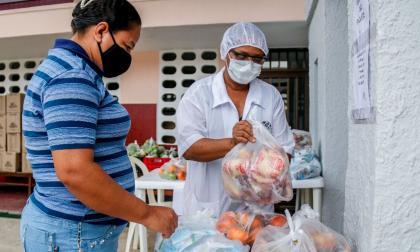 Instituciones educativas de Barranquilla empezaron las entregas del PAE