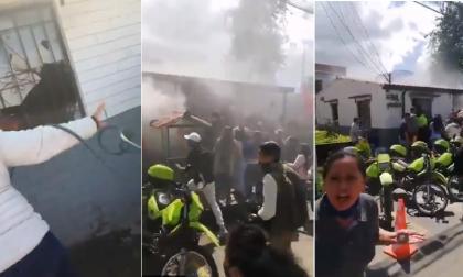 """""""Que se quemen"""": policía involucrado en muerte de 8 detenidos en estación"""