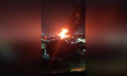 Incendio en el barrio San Roque provocó pánico esta madrugada