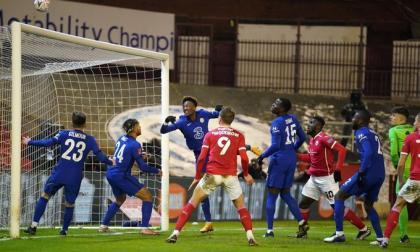 El Chelsea venció por 1-0 al Barnsley.