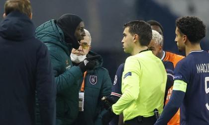 El partido entre turcos y franceses se debió suspender luego de que los jugadores abandonaran el campo.