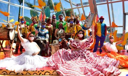 La Banda de Baranoa y su homenaje musical al Carnaval del Atlántico