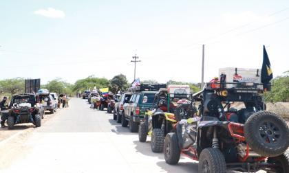 Llegó a La Guajira la expedición