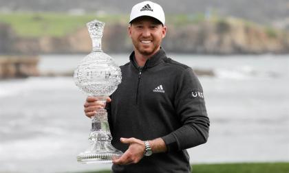 El estadounidense Berger suma en Pebble Beach su cuarto título en el PGA Tour