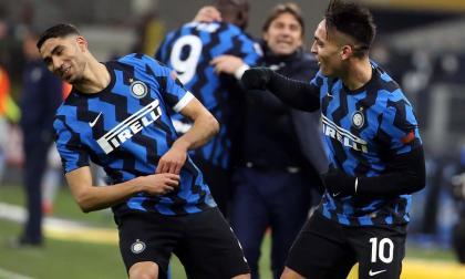 Lukaku y Lautaro impulsan al Inter al primer lugar de la Serie A
