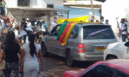 Sentido adiós del pueblo kankuamo al  Consejero Mayor, Luis Fernando Arias