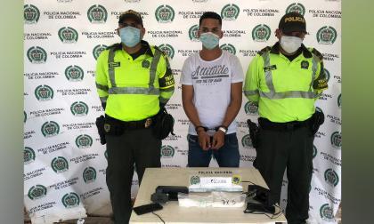 Cristián Vásquez Beltrán, capturado.