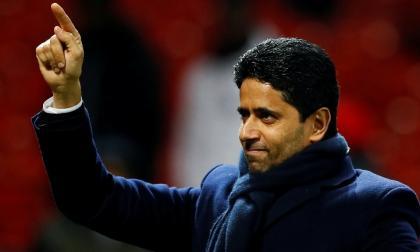 Nasser Al-Khelaifi, propietario del París Saint-Germain.