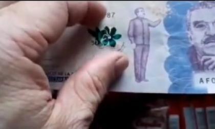 Tenga cuidado, están falsificando el billete nuevo de $50.000