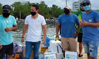 Siguen donando ayudas a afectados por el huracán en San Andrés y Providencia