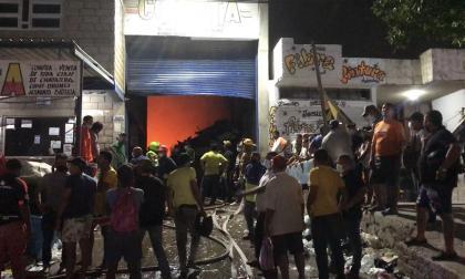 Incendio en Chatarrería Cómbita dejó daños materiales: alcalde de Riohacha