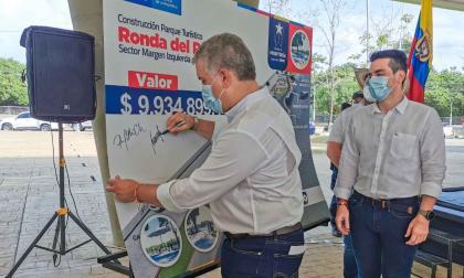 Alcaldía de Montería y Fontur firman convenio para ampliar Ronda del Sinú