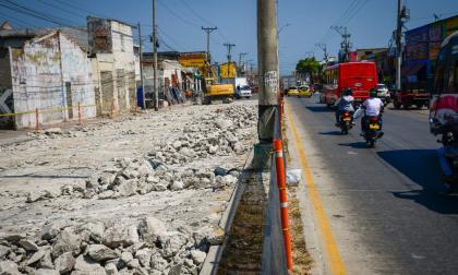 Comerciantes piden agilizar obras de ampliación de la calle 30