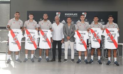 River Plate presenta a Palavecino y otros 5 refuerzos para la temporada