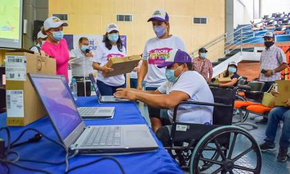 Apoyan a los emprendedores en condición de discapacidad en Sucre