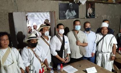 Indígenas de la Sierra Nevada reclaman autonomía en su territorio