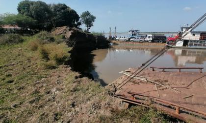Alerta: erosión se acerca a cabecera de Salamina