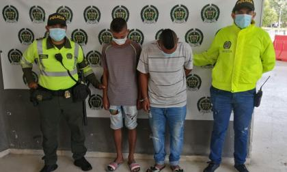 Capturan a dos de 'los Poquitos', señalados atracadores de buses