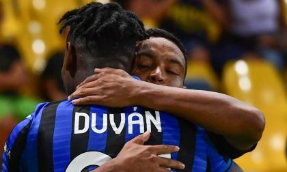 Muriel y Duván Zapata retan al Real Madrid en la 'Champions'