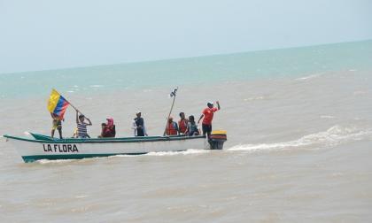 Restringen las playas de Riohacha por fuertes vientos