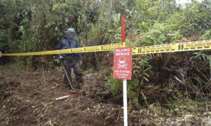 Niño embera de 13 años pisó mina antipersona y perdió una pierna