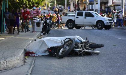 Asesinan a bala a un hombre en el barrio Santo Domingo