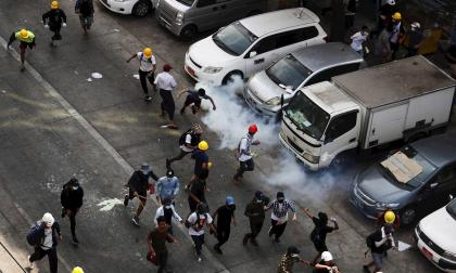 Al menos 54 manifestantes muertos tras represión en Birmania: ONU